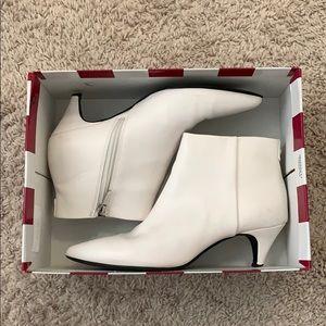 White booties, circus by Sam Edelman